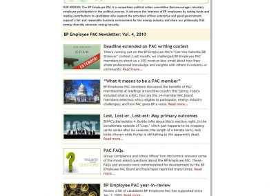 PAC e-Newsletter