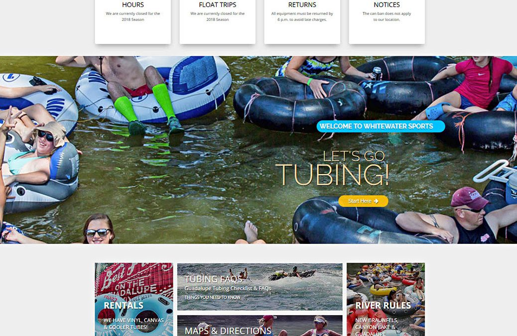 Whitewater Sports Tubing